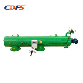 Green Automatic Backwash Filters , Screen Industrial Water Treatment Systems
